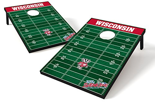 NCAA College Wisconsin Badgers Tailgate Toss Game by Wild Sports