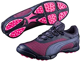 PUMA Women's SunnyLite v2 Mesh Golf Shoes, Womens, 00