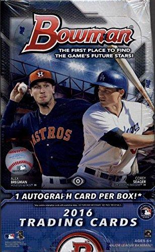 Amazoncom 2016 Bowman Baseball Cards Hobby Box 24 Packs Of 10