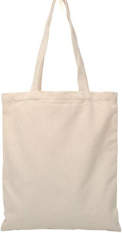 outflower 1pc bolso de algodón natural Bolsa para la compra de ...