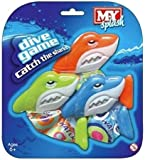 M.Y Underwater Catch The Sharks Swimming Diving Sinking Pool Toys