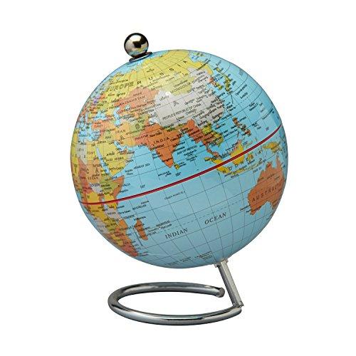 Desktop World Globe with Base (Blue)