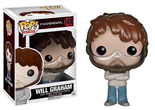 Pop! Funko Hannibal 10 Cm Will Graham Camisa de Fuerza con mascara y Camisa de Fue
