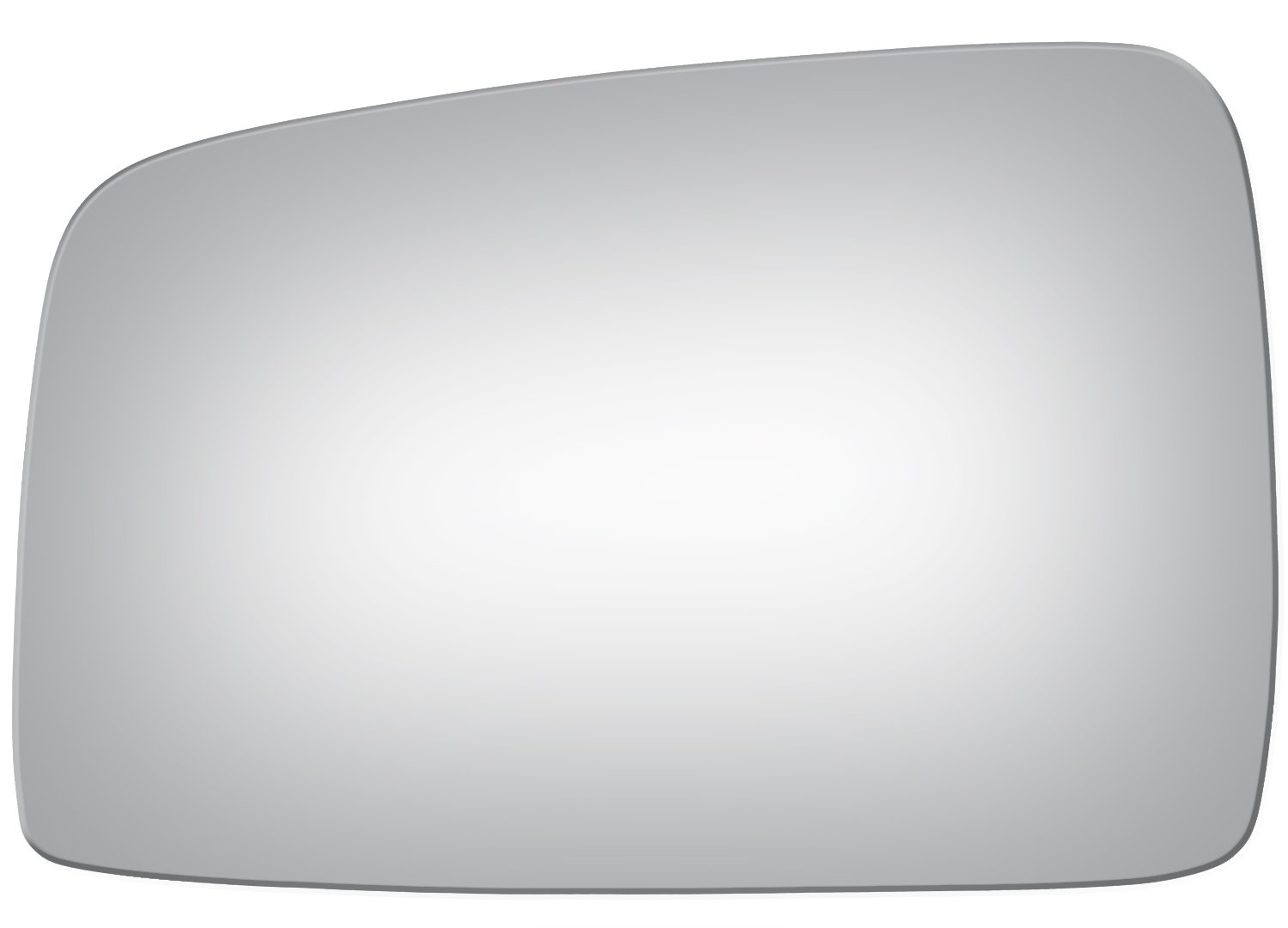 2005, 2006, 2007, 2008, 2009, 2010 Burco 4113 Flat Driver Side Replacement Mirror Glass for 05-10 Kia Sportage