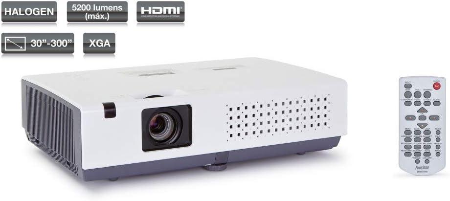Fonestar PR-5200 - Proyector LCD con lámpara halógena: Amazon.es ...