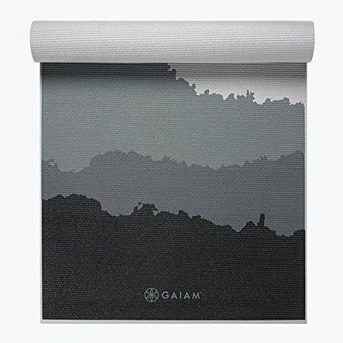 Amazon.com : Gaiam Premium Granite Mountains Yoga Mat 5mm ...