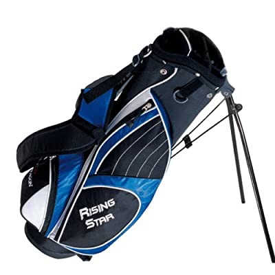 Paragon Golf Rising Star Jr Golf Bag with Stand, Blue - 31""