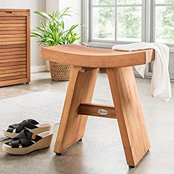 DESTINY Beistelltisch Badezimmer Hocker Tisch Teak Teaktisch Japan ...
