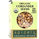 Spicely Organic Coriander Seeds Whole (0.30 OZ ecoBox)