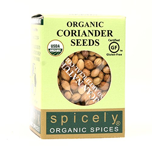 Spicely Organic Coriander Seed - Compact