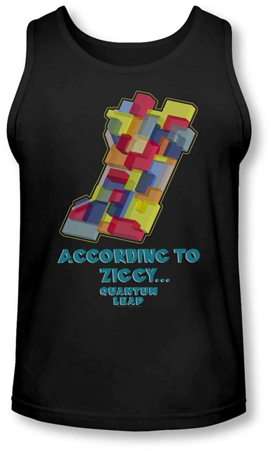 Quantum Leap - Mens According To Ziggy Tank-Top