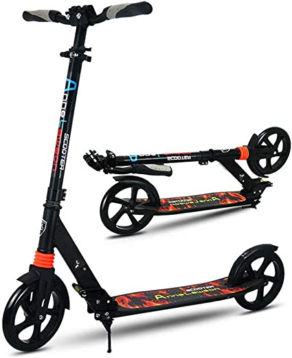 Kick Scooter for Adults Teens Kids 6-18 Years Lightweight Foldable Adjustable