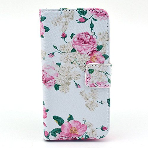 S4 Mini Case (Not for Regular S4 Case),Galaxy S4 Mini Case,,SLMY(TM) Colorful Cute Attractive Wallet Leather Case Protector with Credit ID Cards Holders & Stand Slim Fit For Samsung Galaxy S4 Mini I9190, with Screen Protector, Stylus and Cleaning Cloth Color Z18
