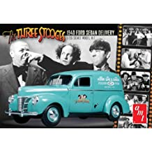 Round 2 The Three Stooges: 1940 Ford Sedan Delivery 1:25 Scale Model Kit