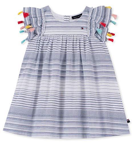 (Tommy Hilfiger Girls' Toddler Dress, Rose Plaid)