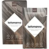 Synchro Keto Manna | Ketogenic Chocolate Fudge | 12g MCTs | Keto Optimized Nutrition On-The-Go | Low Carb Snack (1.2oz Packets, Box of 10)