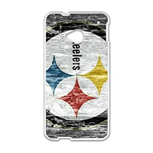 Happy Creative Steelers Pattern Fahionable And Popular Back Case Cover For HTC One M7