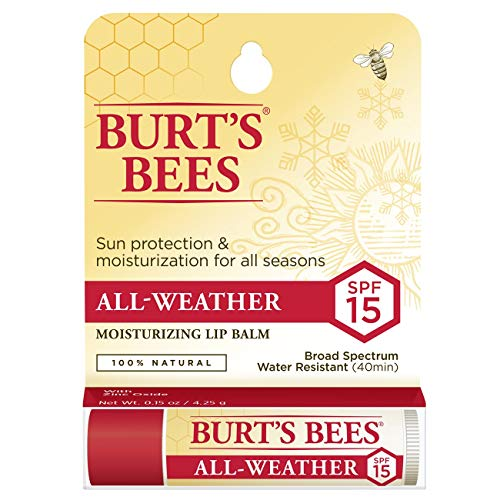 Burt's Bees 100% Natural All-Weather SPF15 Moisturizing Lip