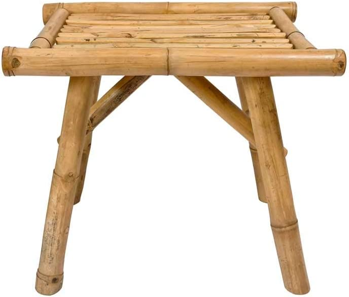 Bamboo Side Table - Stool - Plant Stand - Accent Table - Indoor/Outdoor Use