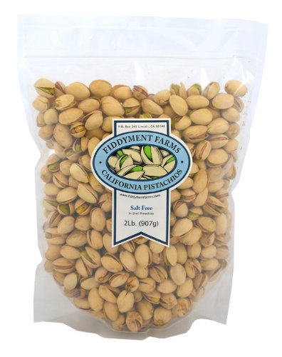 Fiddyment Farms 2lb Unsalted In-shell Pistachios For Sale