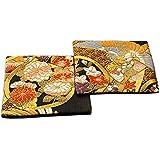 和風 金襴織着物コースター 2枚セット (明日香 あすか)