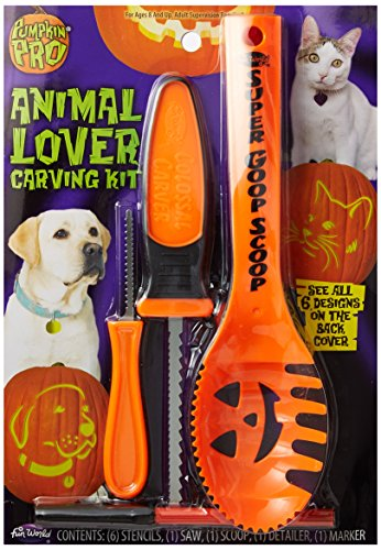 Pumpkin Pro Animal Lover Carving Kit ()