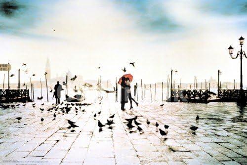 Romance San Marco Venice Italy Travel Poster 24x36