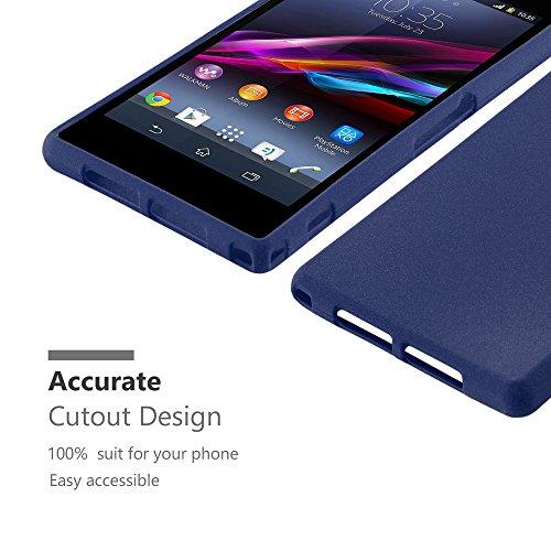 Cadorabo - Cubierta protectora para Sony Xperia Z1 Mini de silicona TPU en diseño Escarcha
