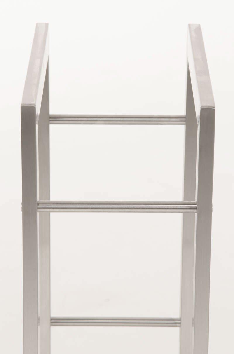 Fino a 8 Misure a Scelta 25 x 40 x 100 cm CLP Esclusivo portalegna KERI in Robusto Acciaio Inossidabile