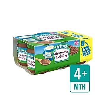 Heinz Schokoladenpudding 6 X 120 G - Packung mit 6