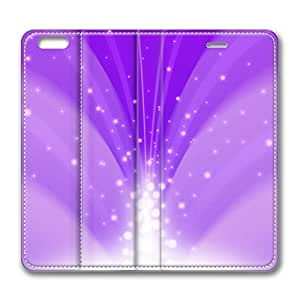 Case For Iphone 6 4.7Inch Coverinch Leather Case, Cascade Of Magic Powder Light Purple Luxury Protective Slim Fit Skin Cover Case For Iphone 6 4.7Inch Cover [Stand Feature] Flip Leather for New Case For Iphone 6 4.7Inch Cover