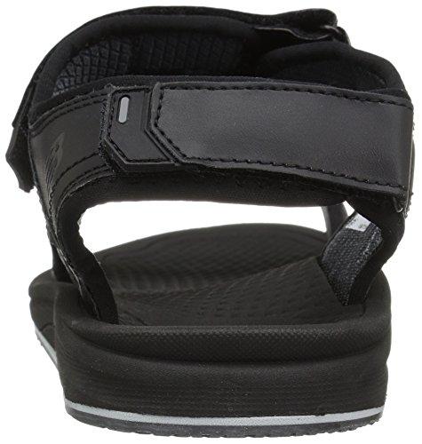 New Balance Mens Recharge Sandal Black pOfGaxX