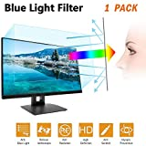24 in Anti Blue Light Laptop Screen Protector, Anti Blue Light & Glare Filter Film Eye Protection Blue Light Blocking Screen Protector for 24' Widescreen Desktop Monitor Display 16:9 (24IN)