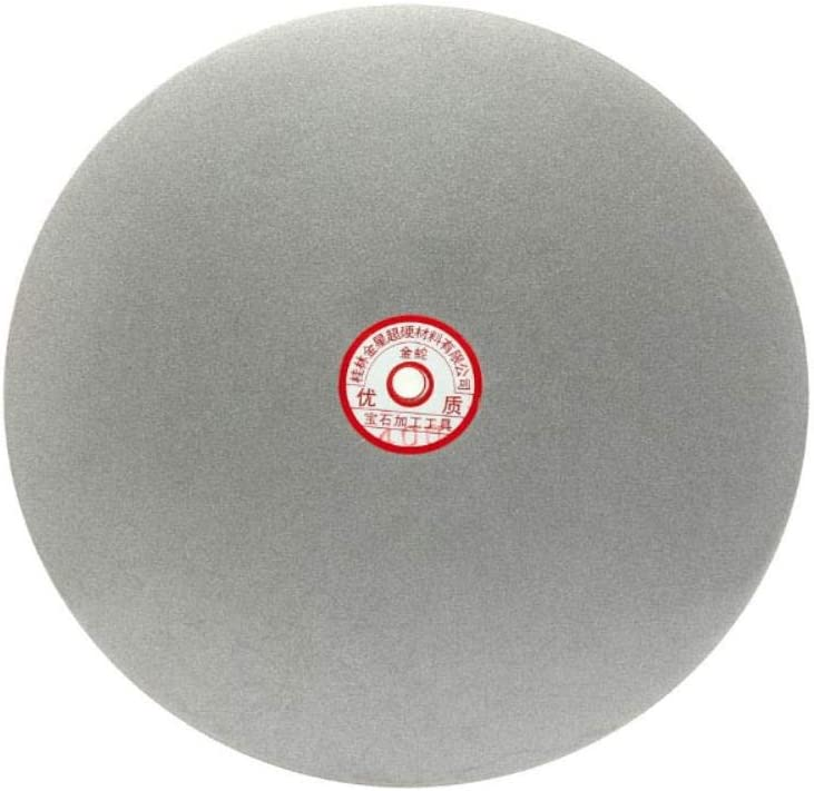 250mm 10-inch Diamond Coated Flat Lap Disk Wheel Grinding Sanding Disc,10-inch 60 Grit 10-inch 60 Grit