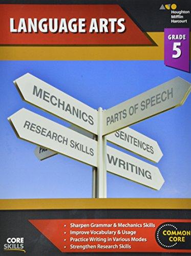 Steck-Vaughn Core Skills Language Arts: Workbook Grade 5