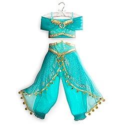Disney Jasmine Costume for Kids Blue