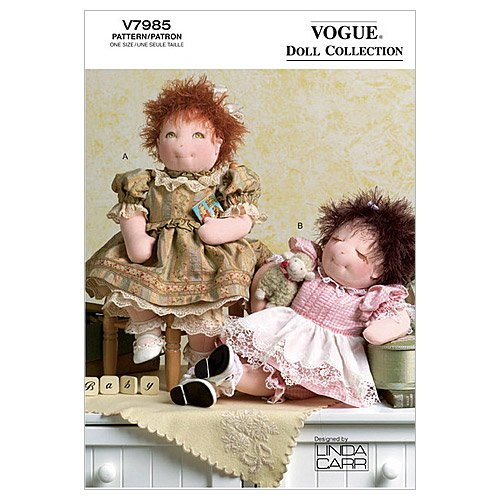 Vogue Patterns V7985 15 Inch Clothes product image