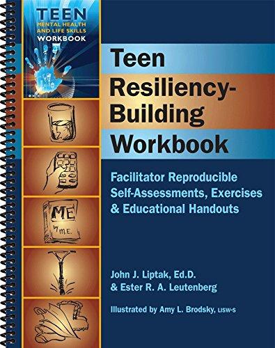Teen Resiliency-Building Workbook (Teen Mental Health and Life Skills Workbook Series) (Spiral-Bound) (Teen Mental Health & Life Skills Workbook)