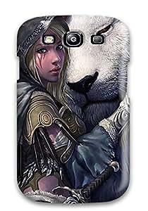 New Tpu Hard Case Premium Galaxy S3 Skin Case Cover(the Elf And Her Pet)