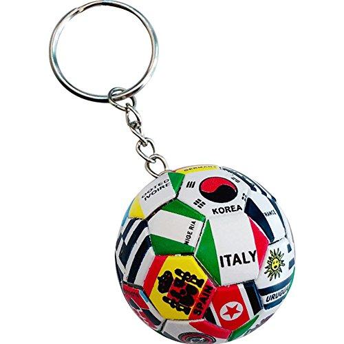 - hefeilzmy Sports Ball Key Chain Soccer Ball Keychains (1)