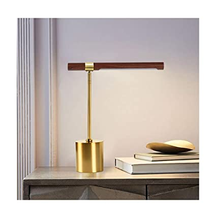 Amazon.com: PPWAN Table Lamp American Light Luxury Bedroom ...