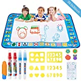 Water Doodle Mat, YEEGO Aqua Magic Doodle Water Drawing Mat Extra Large Size 40' X 30' Painting Mats...