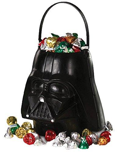 Star Wars Treat Pail (Boys Halloween Costume-Darth Vader Halloween Candy Pail)