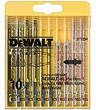 DeWalt HCS Stichsägeblatt-Set (10-tlg., für Holz und Metall) DT2294