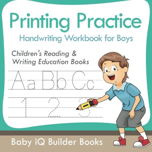 Download Printing Practice Handwriting Workbook for Boys : Children's Reading & Writing Education Books ebook