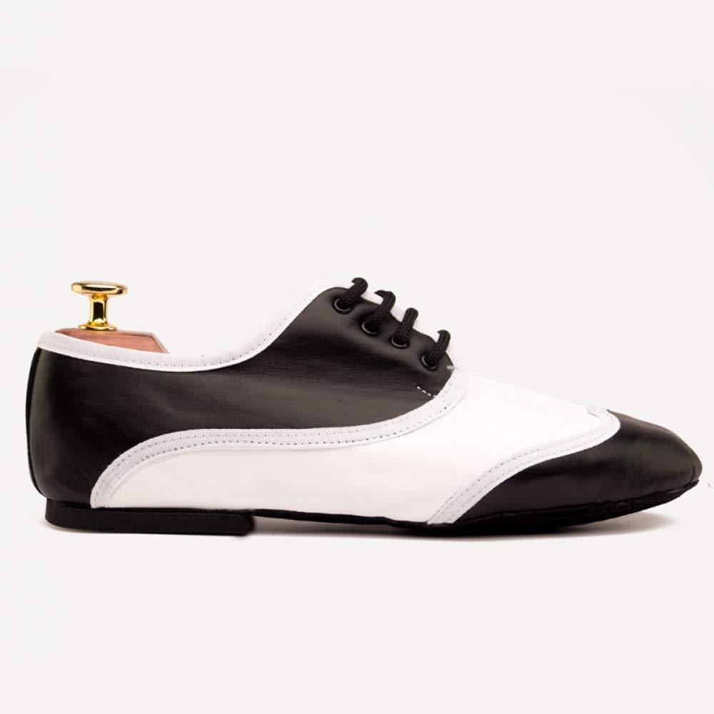 Manuel Reina - Zapatos de Baile Latino Hombre Jazz Black W - Bailar Bachata y Salsa - Zapatos de Jazz