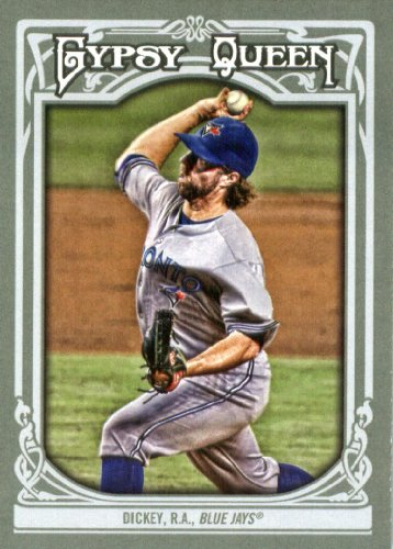 Dickey Mets Baseball Card NM-MT 2013 Topps Calling Cards #CC-9 R.A