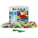 [Sponsored]Building Bricks - 1,100 Pieces Compatible Toys by Brickyard Building Blocks - Bulk...
