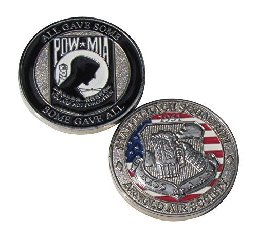 (All Gave Some, Some Gave All POW MIA Arnold Air Society Challenge Coin)