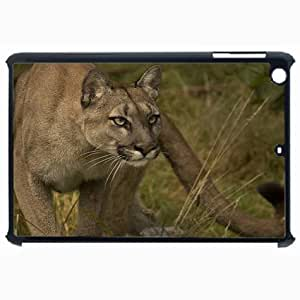 Customized Back Cover Case For iPad Air 5 Hardshell Case, Black Back Cover Design Cougar Personalized Unique Case For iPad Air 5 wangjiang maoyi by lolosakes